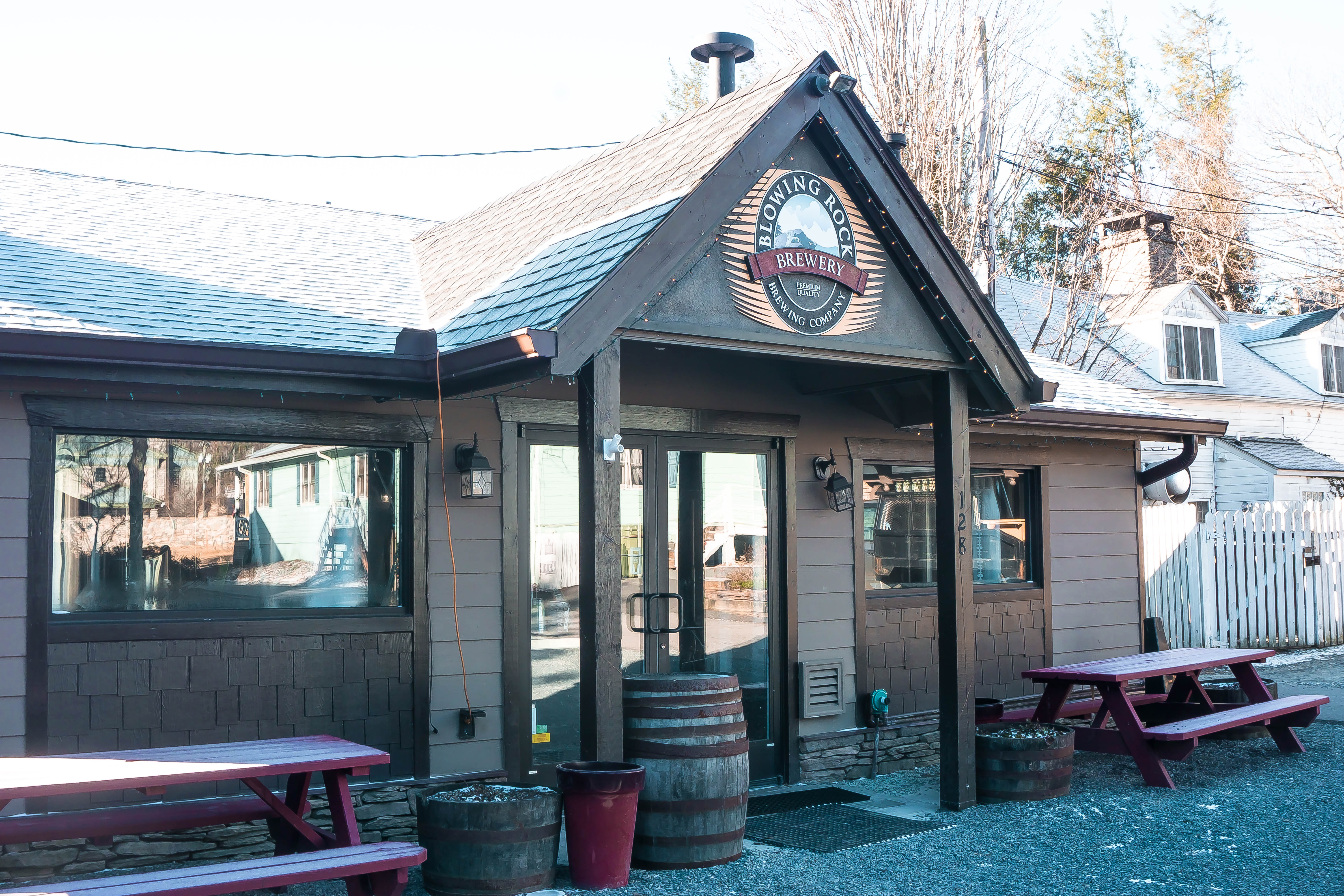 Blowing Rock Brewery: Staying at the Inn